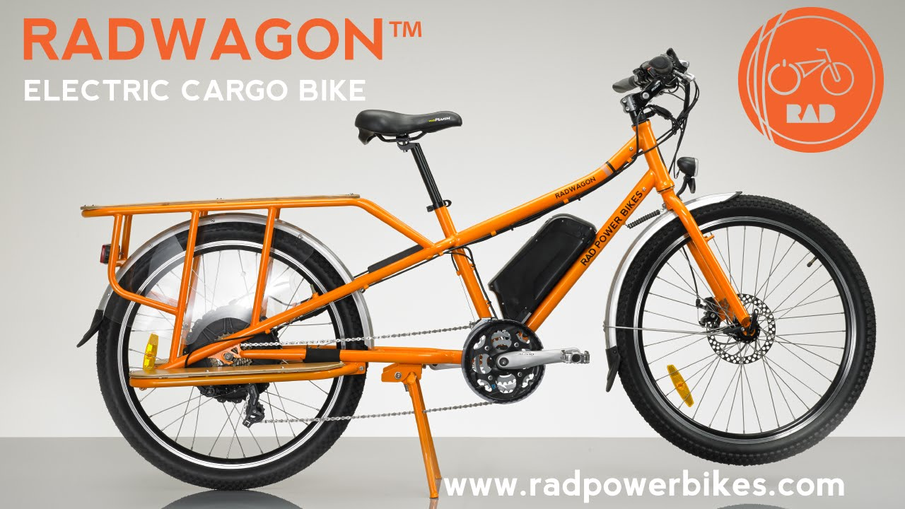 2017 radwagon electric cargo bike from rad power bikes. Black Bedroom Furniture Sets. Home Design Ideas
