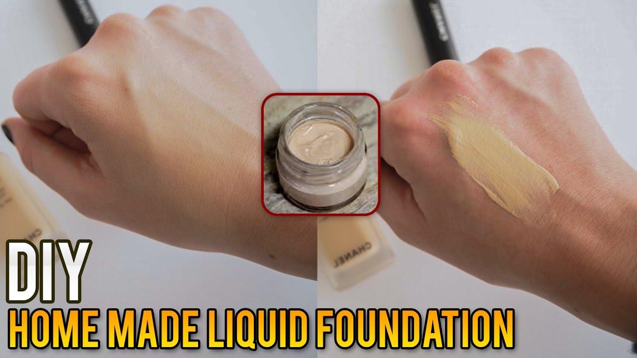 Diy Home Made Liquid Foundation How To Make Liquid Foundation At Home