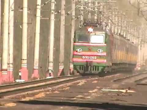 [РЖД] ВЛ10-1359 + ЧС2т + фирменный поезд №017А «Карелия»