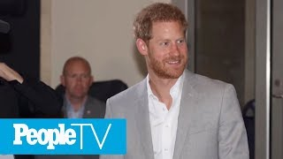 Prince Harry Breaks His Silence On Private Jet Controversy | PeopleTV