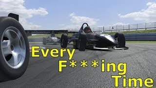 Every F****** Time | iRacing Gameplay Skippy At Snetterton