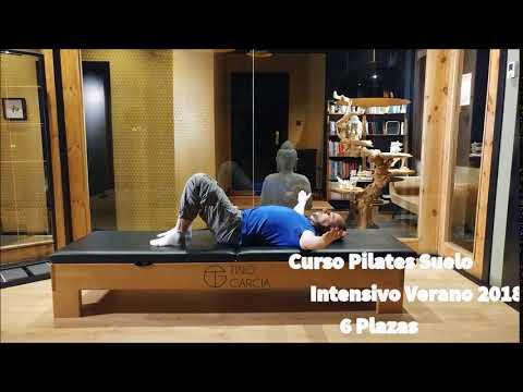 Curso Pilates Suelo, intensivo Veran 2018 en Oviedo, Tino Garcia Pilates