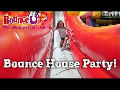 EMBERLYNN'S BIRTHDAY PARTY | BOUNCE U BOUNCE HOUSE | PHILLIPS FamBam Vlogs