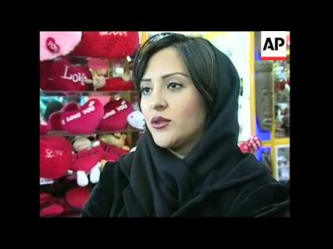 Some Iranians, Iraqis  celebrate St Valentine's Day