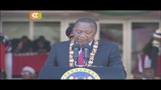 Kenyatta asisitiza msimu wa siasa umepita