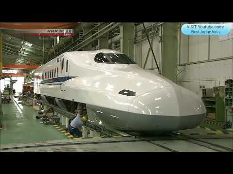 WORLD CLASS Maintenance For JAPAN SHINKANSEN Bullet Train • Japan Railway Journal