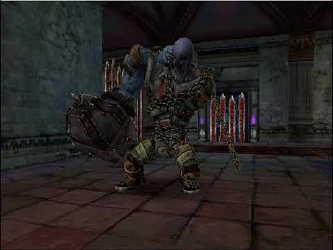 Emulação - Castlevania: Curse of Darkness in-game no HPS2x64 v0232 (emulador de PS1 e PS2)