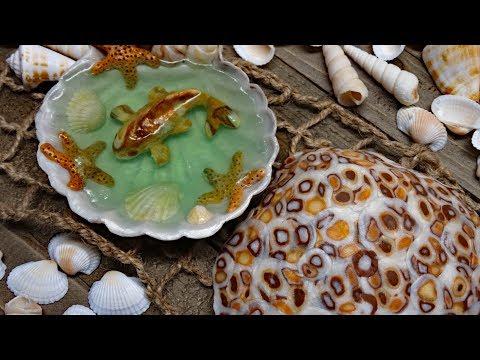 """Shell Beach"" by Black Cat Blues-Premium Handmade Art Soap"
