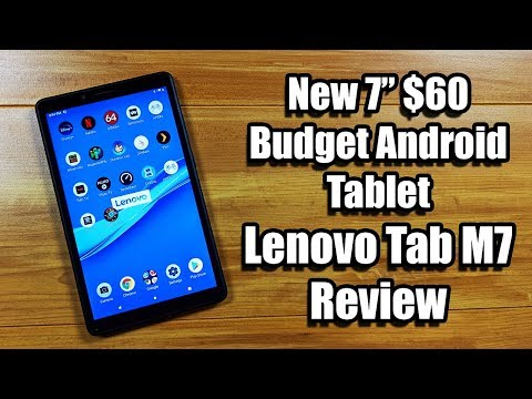"""Lenovo Tab M7 Review New 7"""" $60 Budget Android Tablet"""