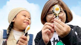 KẸO QUE SOCOLA -- 100% GIỐNG QUẢ TRỨNG ❤Susi kids TV❤
