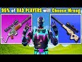 10 DUMB Things Only BAD Fortnite Players Do | Chaos