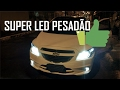 Lâmpadas Super LED Chevrolet Onix/Prisma (instalação)