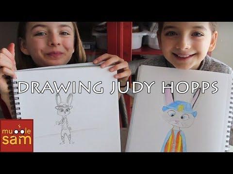 ZOOTOPIA BUNNY COP (Judy Hopps) DRAWING CHALLENGE