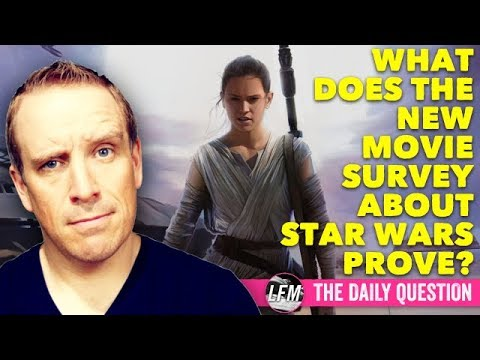 What does the new Star Wars movie survey prove?