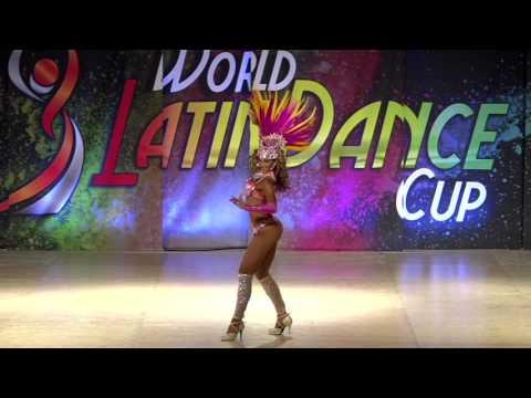 Stephanie Bernard, Australia, Samba Lady Soloist Pro, Final 2nd Place, WLDC 2016