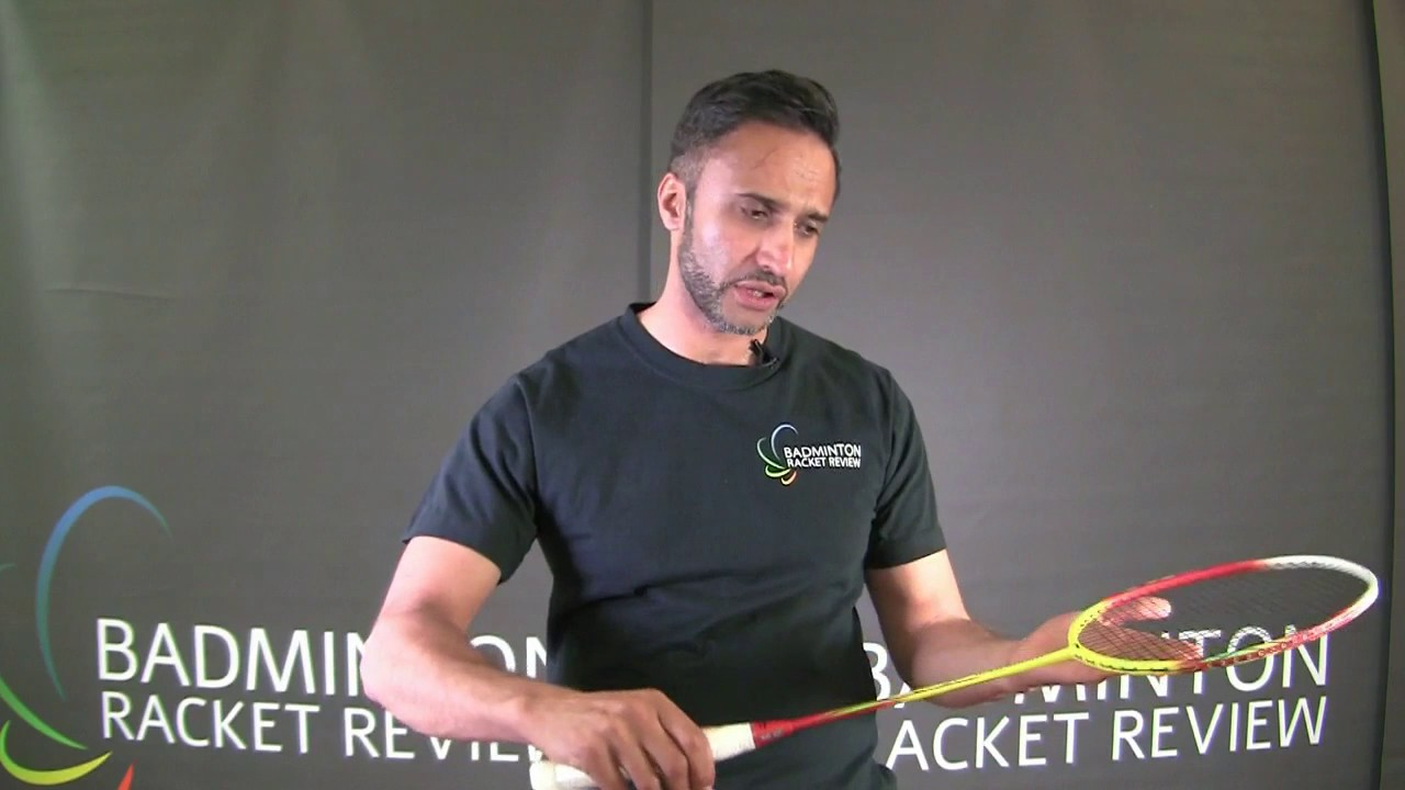 ea881a20c Li-Ning Windstorm 500 Badminton Racket Review - YouTube