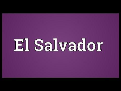 El Salvador Meaning