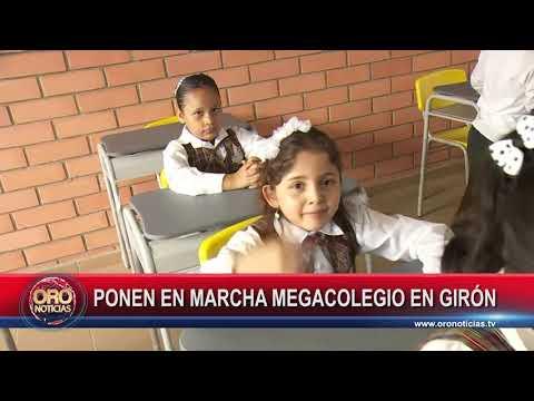 PRESIDENTE DUQUE ESTUVO EN EL MEGACOLEGIO DE MIRADOR DE ARENALES DE GIRÓN - ORONOTICIAS.TV