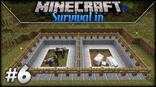 Survival in Minecraft: Episode 6 - Animal Farm!