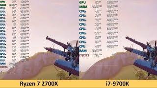 FORTNITE TEST GRAPHICS RTX 2070 + I9 9900K! +200 FPS