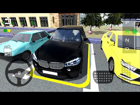 Luxury SUV Car Parking #2 - Black BMW Simulator Parking Lot Android Gameplay