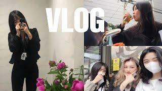 [vlog] 대학조교브이로그 | 홈파티 그리고 술술술ㄹ…