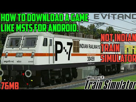 How To Download MSTS For Android||Best Train Simulator||New Game