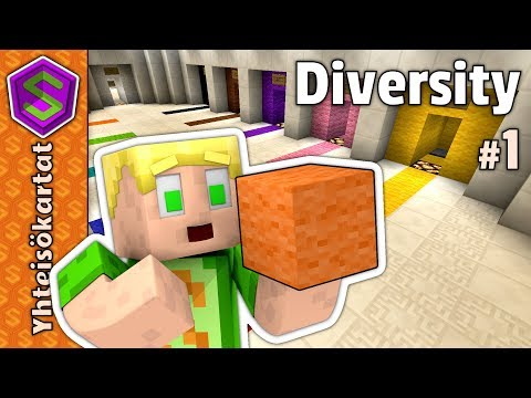 Uusi seikikailu! | Minecraft Diversity #1