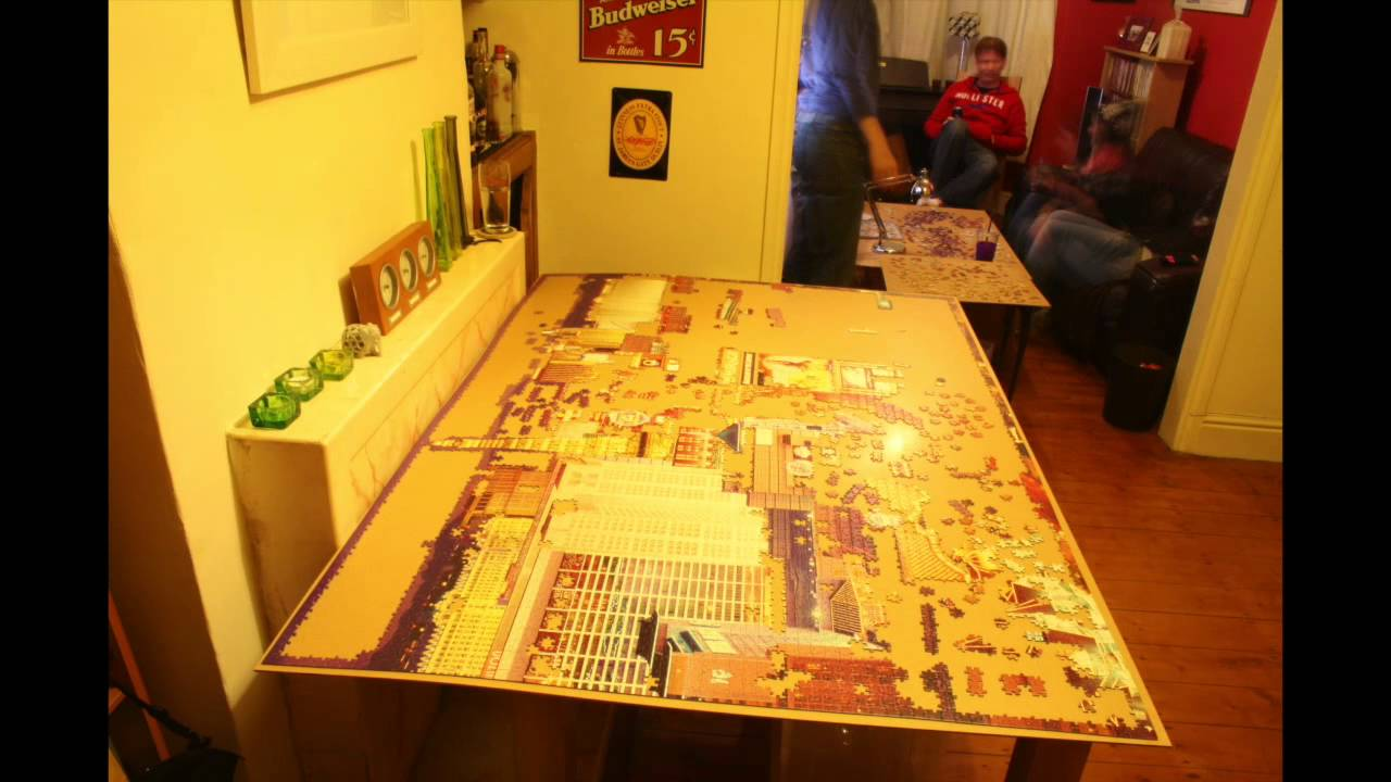 6000 Piece Jigsaw Timelapse Youtube