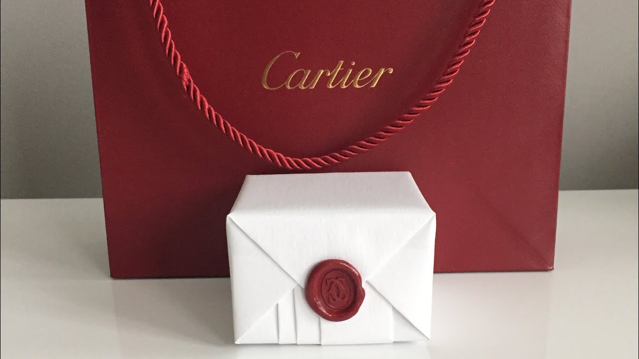 Cartier Love Ring Unboxing Youtube