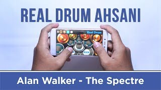 Video Alan Walker - The Spectre (Real Drum Cover by Ahsani) download MP3, 3GP, MP4, WEBM, AVI, FLV April 2018