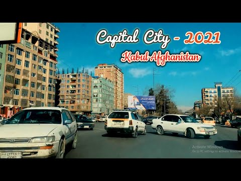 Beautiful Kabul City in 2021 | HD | Capital City of Afghanis