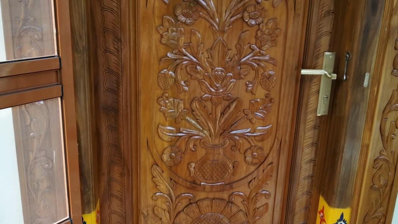 Take Wood Main Door Designs - YouTube