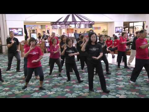World Tai Chi Day 2016 Honolulu, Hawaii Kahala Mall everydaytaichi lucy chun Honolulu, Hawaii