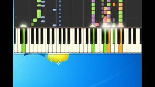 Lene Marlin   Sitting down here [Piano tutorial by Synthesia]