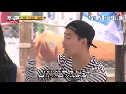 RM255 - Suk Jin surprised by Ji Hyo appereance
