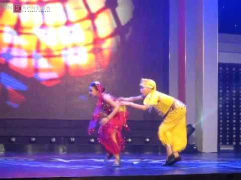 Màn dance sport biến hóa của Ngọc Hải - Bảo Ngọc