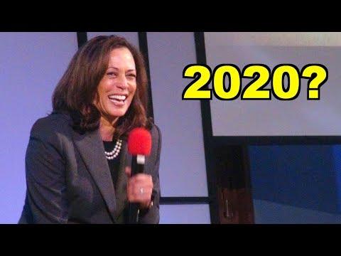 Sen Kamala Harris in Sacramento - Road to the White House 2020?