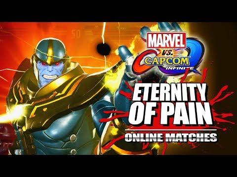 AN ETERNITY OF PAIN: Marvel Vs. Capcom Infinite 2017 - Thanos Legacy
