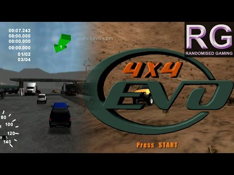 4x4 Evolution - Sega Dreamcast – Intro, Quick Race & Career mode gameplay [HD 1080p 60fps]