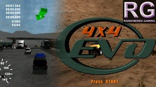 4x4 Evolution - Sega Dreamcast – Intro, Quick Race & Career mode gameplay [HD 1080p 60fps]
