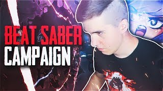 Woops - NEW BEAT SABER CAMPAIGN!? (Beat Saber Highlights)