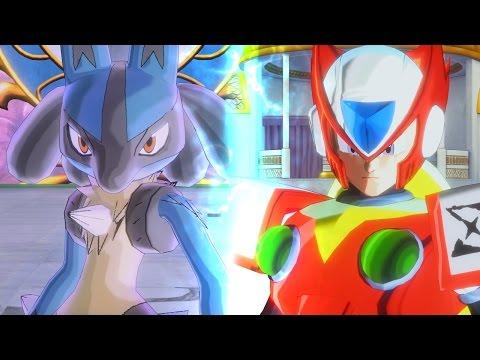 Lucario (Pokemon) vs Zero (Megaman) Epic Characters Mods!!   Dragon Ball Xenoverse 2