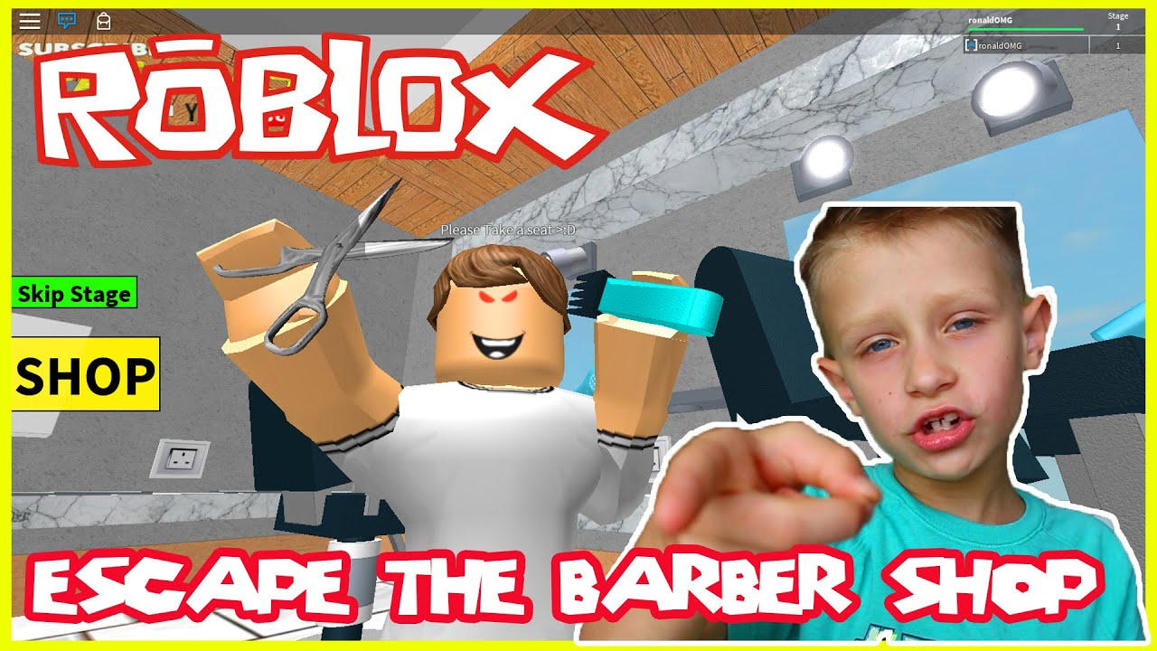 Escape Mr Crazy S Barber Shop Roblox Youtube Roblox Roblox Escape The Barber Shop The Ugly Woman Wanted To Marry Me Youtube