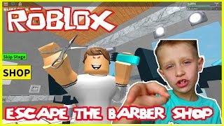 Roblox Escape the Barber Shop | The UGLY WOMAN wanted to marry me?!?