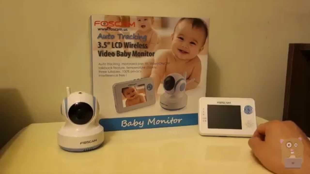 foscam fbm3502 digital video baby monitor review youtube. Black Bedroom Furniture Sets. Home Design Ideas