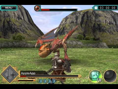 MONSTER HUNTER Dynamic Hunting Ios Iphone Gameplay