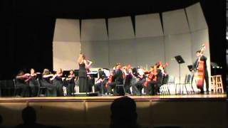Heritage H.S.Chamber Orchestra performs Brandenburg Concerto, No  3 by J S  Bach, arr  Issac