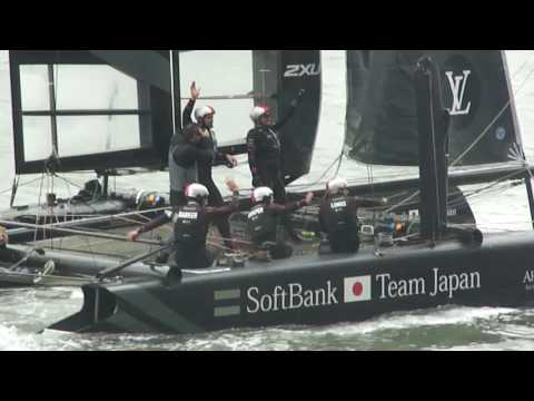 Louis Vuitton Americas Cup NYC 2016 (Day 1 - JPN SoftBank 05/07/2016)