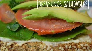 Desayunos, fáciles, rápidos, y SALUDABLES!